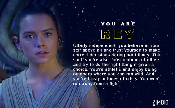 Which 'Star Wars: The Force Awakens' Character Are You?
