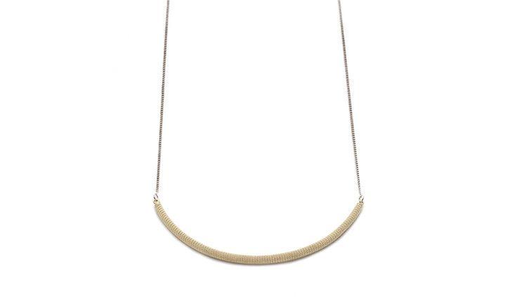 Liliana Guerreiro   Colecções - Gold and silver necklace, handmade