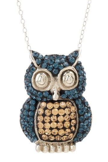 I love owls! Especially owl jewelry :)