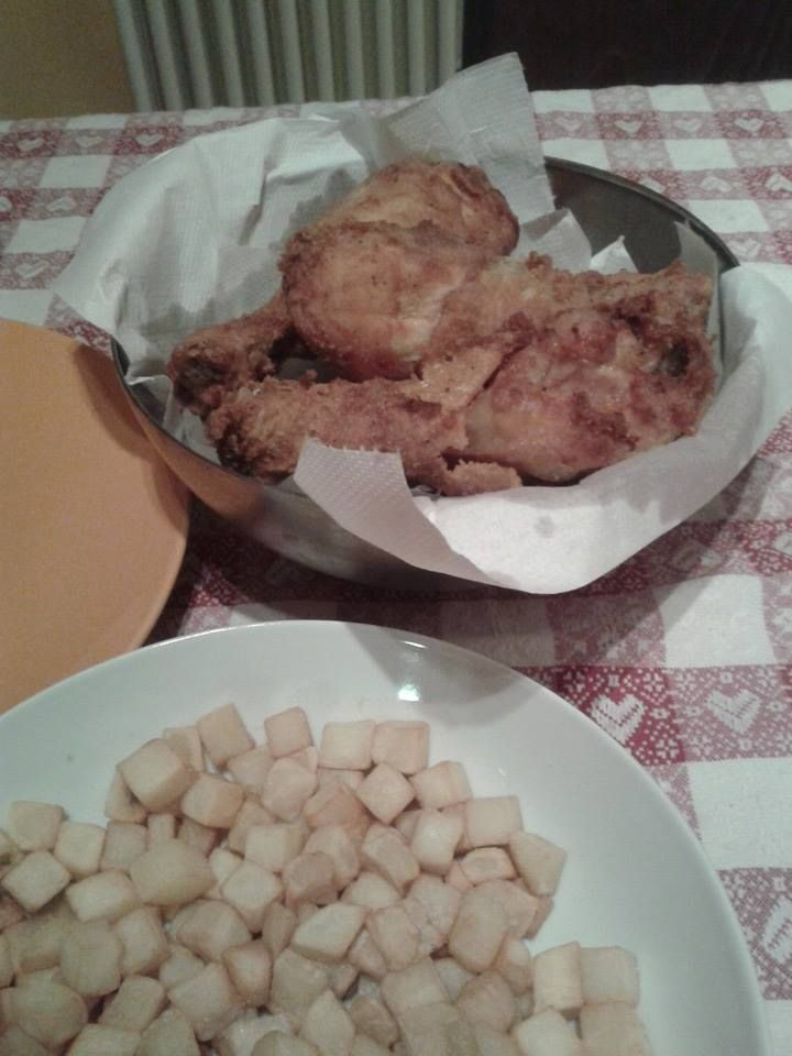 fried chicken US style
