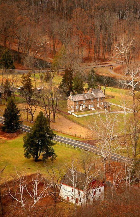 Fall colors in Washington Crossing, Bucks County Pennsylvania, U.S   by David OMalley