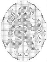 Маленькие ангелочки в медальонах - они могут быть маленькой картинкой, частью большой скатерти или шторы или украшением на окно, а может даже елочными игрушками (свяжите тонкими нитками и накрахмальте).