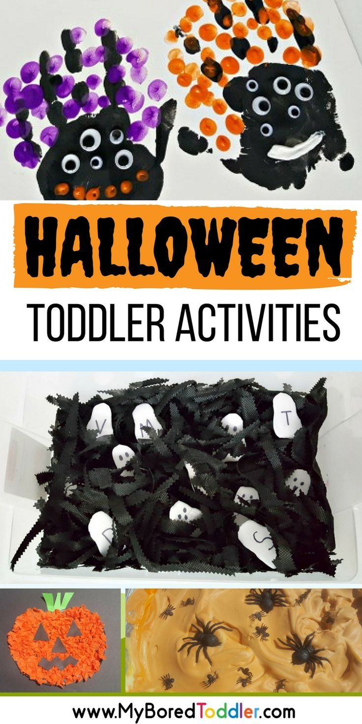 Over 70 toddler activities that are perfect for Halloween. if you are looking for Toddler Halloween crafts and Toddler Halloween activities then we have you sorted! #toddlerhalloween #halloweentoddler #halloweensensory #halloweencrafts #toddleractivities
