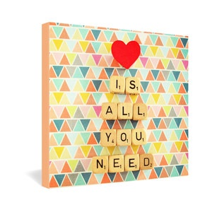 All You Need Wrapped Canvas now featured on Fab.