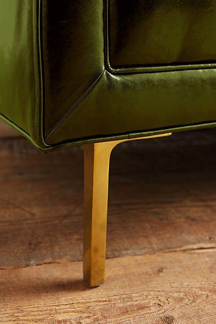 Premium Leather Mina Sofa - anthropologie.com
