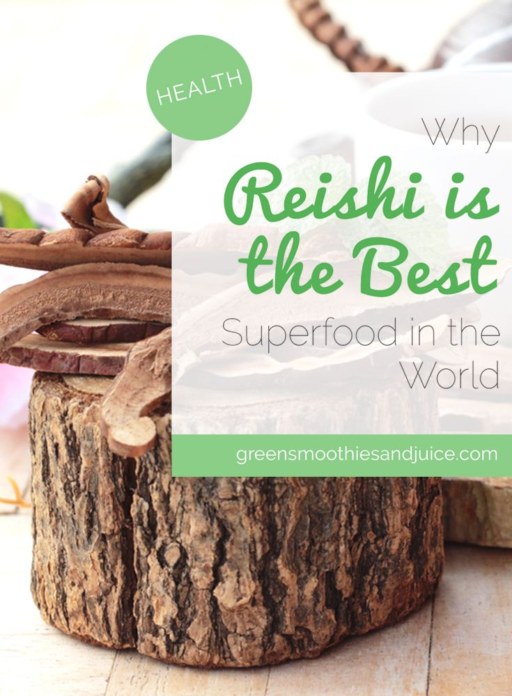 Reishi mushrooms are a powerful superfood that have quite possibly saved both my husband and my father from fatal illness.   #healthtips