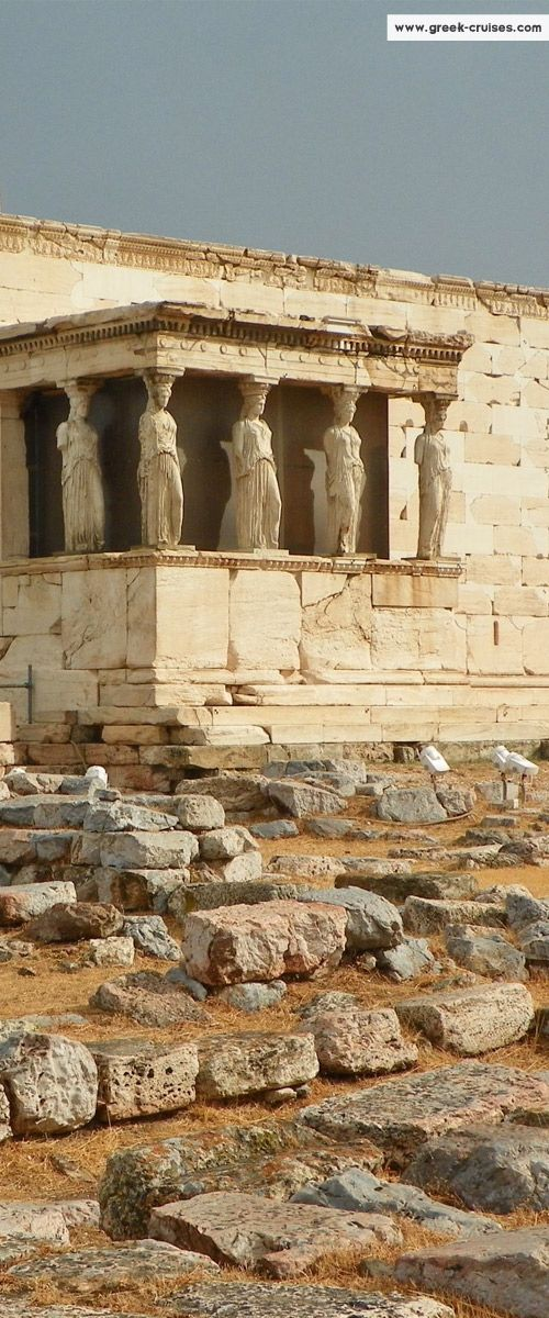 Erectheion - Acropolis  - Athens, Greece  CLICK THE PIC and Learn how you can EARN MONEY while still having fun on Pinterest