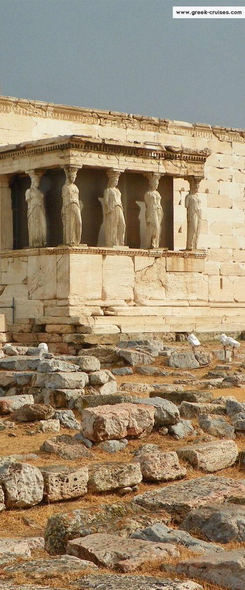 Erectheion - Acropolis  - Athens, Greece