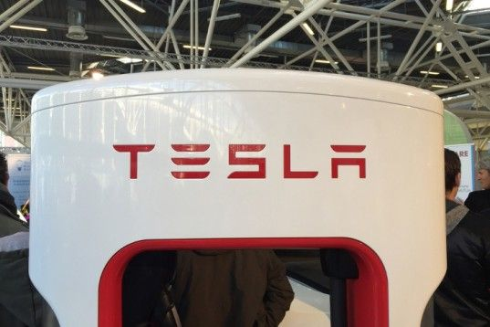 Tesla announces a stationary battery designed for home use, which charges at night when utility companies charge less for electricity, translating into mega savings.