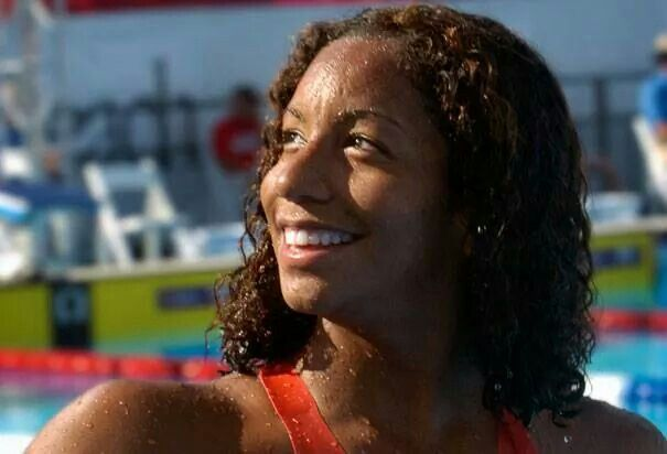 Maritza Correia' (born December 23, 1981) is an Olympic swimmer who became the first Puerto Rican of African descent to be on the USA Olympic Swimming Team. She also became the first Black United States swimmer to set an American and World swimming record.