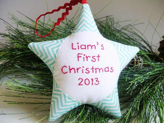 10 Adorable, Modern Baby's 1st Christmas Ornaments