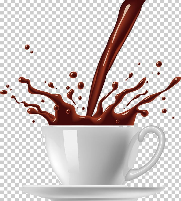 Coffee Cup Tea Hot Chocolate Png Cappuccino Chocolate Coffee Coffeemaker Color Splash Hot Chocolate Coffee Cups Chocolate