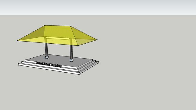 Rumah jawa - Limasan Semar Pinondong - 3D Warehouse