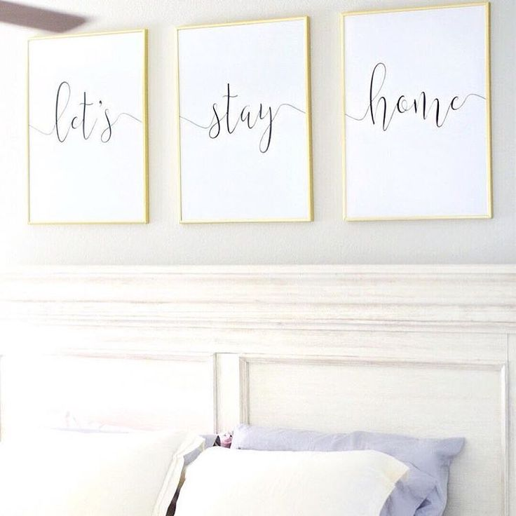 Let's Stay Home by Dear Lily Mae Designs on Etsy $10 Digital, Printable, You-Print Files, 18x24 Photo by: @ karikriewald on Instagram