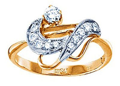 Золотое кольцо  15276RS http://topchasy.ru/index.php?route=product/product&product_id=175559  Price:  72 450.00 р.Кольцо с бриллиантами. 1 бриллиант 0,12 карат; 7 бриллиантов 0,14 карат; 3 бриллианта 0,1 карат. Материал: желтое золото 750 пр. Средний вес: 3.1 гр..