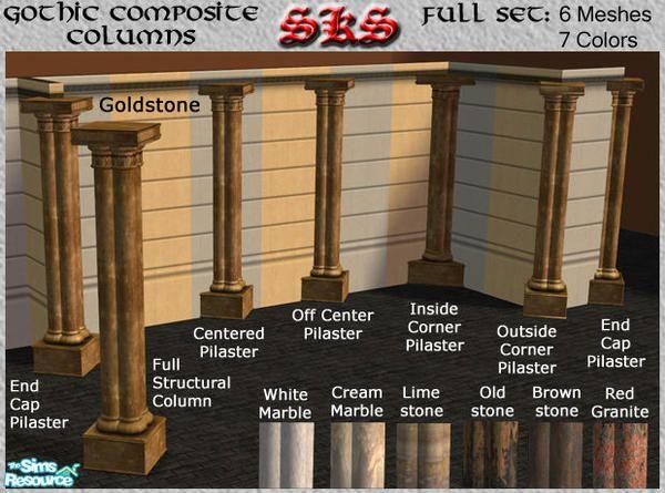 71robert13's Gothic Composite Column Set