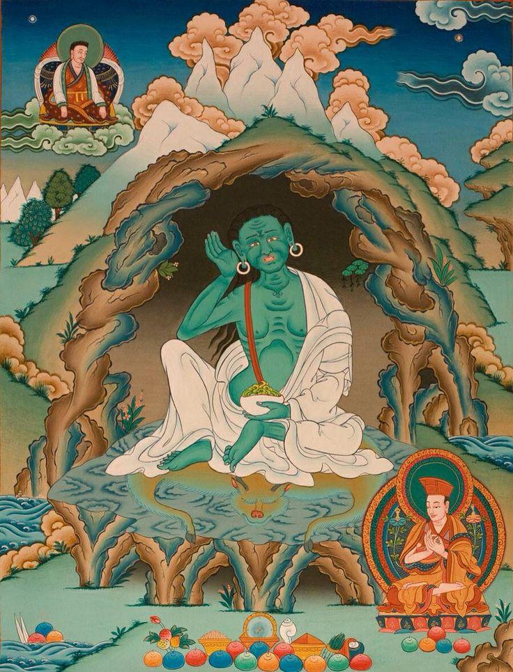 Milarepa, famous yogi and poet