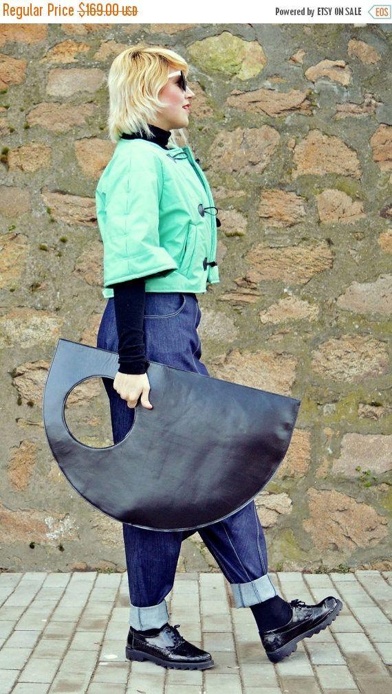 Sunday's Trend  YELLOW SALE 15% OFF Genuine Leather Bag / Extravagant Black https://www.etsy.com/listing/487704592/yellow-sale-15-off-genuine-leather-bag?utm_campaign=crowdfire&utm_content=crowdfire&utm_medium=social&utm_source=pinterest