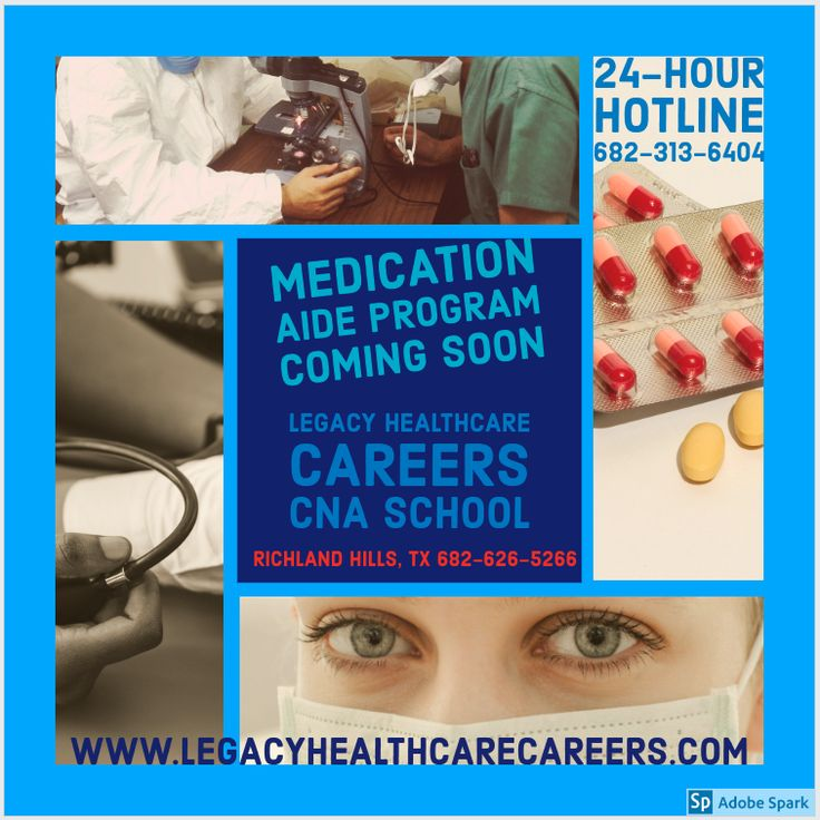 How to a Medication Aide, a.k.a Medication