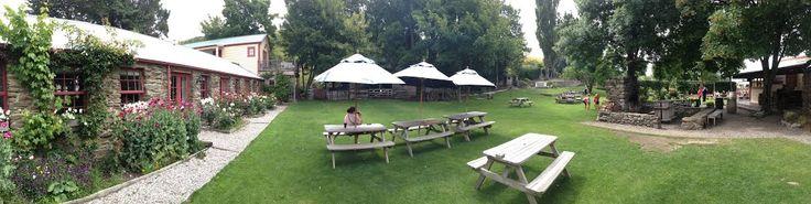 Cardrona Hotel Beer Garden