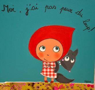 Le petit chaperon rouge tableaux