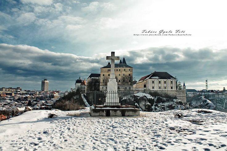 A téli Veszprém