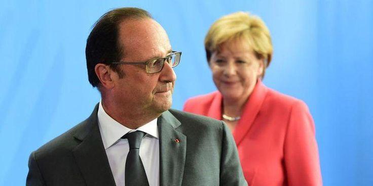 François Hollande demande louverture dun asile psychiatrique pour enfermer Angela Merkel
