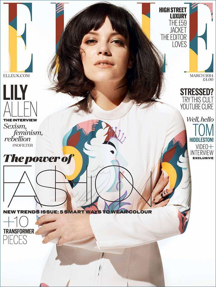 Lily Allen - Mar. 2014 U.K. Cover