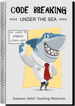 Escape from Sheriff Chompalot's ocean jail by decipering the secret code.  Learn about sea creatures as you break the code.