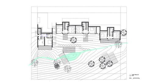 En Construcción: Kalasur Apart Hotel 3 estrellas + Vivienda unifamiliar,Planta Baja