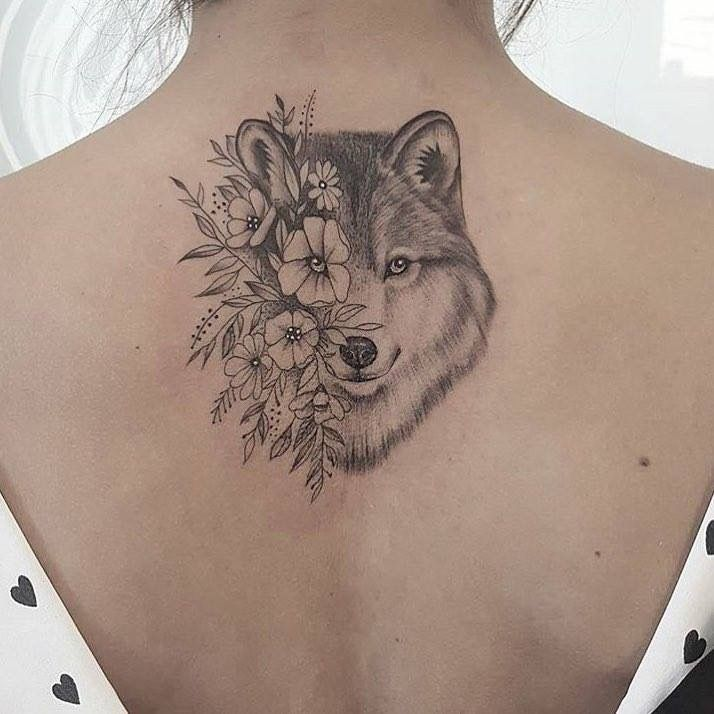Leão Ao Invés De Lobo Tatuagens Femininas Sensuais