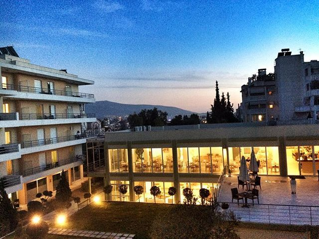 As the night comes! #CivitelAttik #Athens #CivitelHotels Photo by @crabil1