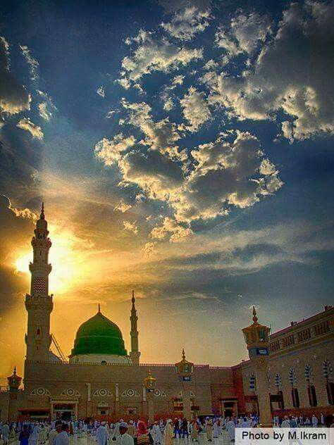 Masjid e Nabwi ﷺ Shareef.