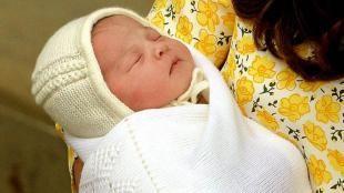 Una ternura: mirá las primeras fotos de la hija de Kate Middleton y el príncipe William - TN.com.ar