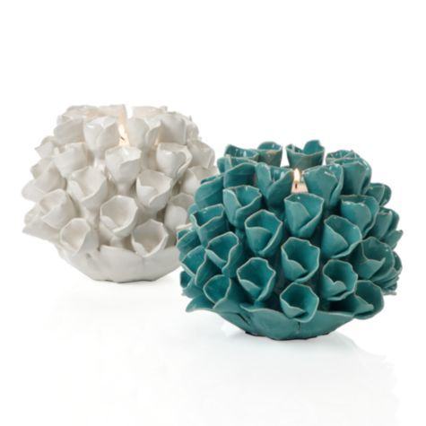 Flora Tealight from Z Gallerie, $19.95  #ZGallerie