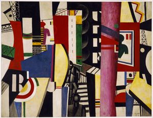The City, 1919, by Fernand Léger (Philadelphia Museum of Art: A. E. Gallatin Collection, 1952-61-58) © 2013 Artists Rights Society (ARS), New York/ADAGP, Paris.