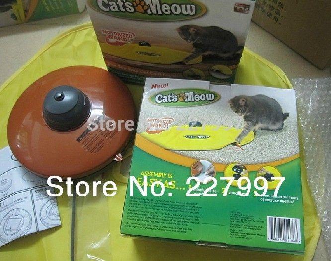 Ас видно на телевизор есть коробка тайные мышь, Cat ' s мяу электронный Cat игрушка Cat тренировка инструмент, 30 pcs/lot