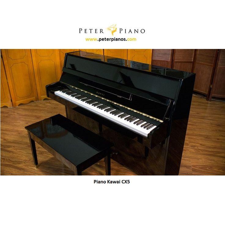 Di jual Piano Kawai CX5 asli Jepang kondisi sangat bagus dan terawat, suara sound empuk.  Peter Piano menyediakan lebih dari 100 unit piano baru / second kualitas terbaik di kelasnya dengan harga yang bersahabat dan bergaransi.  Bisa Cash atau Kredit dengan cicilan sampai 3tahun, syarat mudah hanya fotocopy KTP saja, proses mudah.  Garansi 3thn sparepart services Gratis stem 2x Gratis pengiriman Jabodetabek Gratis bangku piano dan lainnyaa..