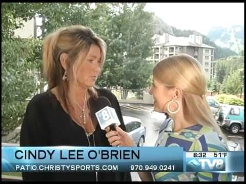 Christy Sports Patio Furniture Showroom In Avon   Cindy Lee Ou0027Brien  Interview   TV8