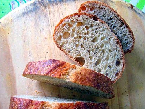 Фото Итальянский сельский хлеб