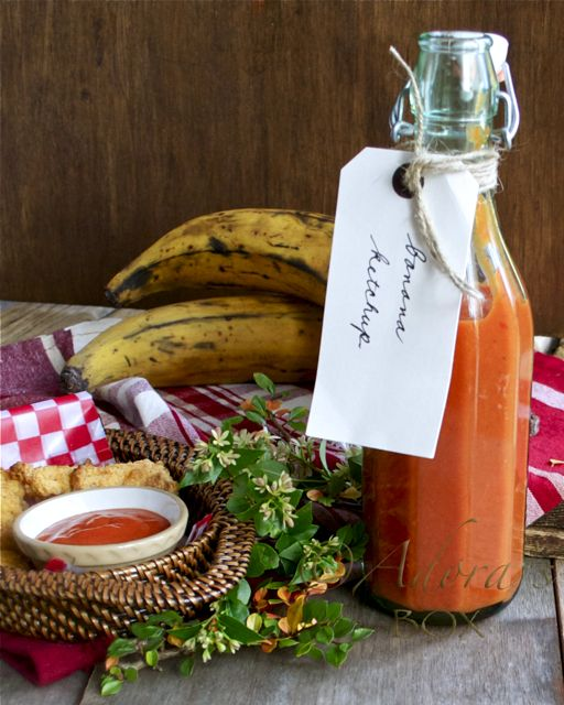 ADORA's Box: HOMEMADE BANANA KETCHUP