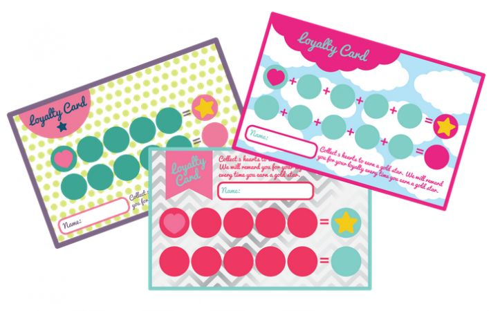 Business Punch Card Template Free Card Templates Card Template Card Templates Free