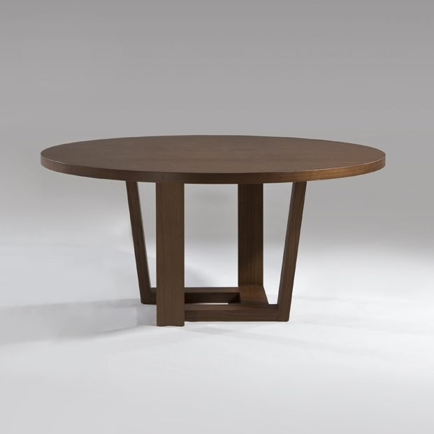 Henning 1550mm Round Table Material: MDF Veneer Table Top And Base. Size:  Φ122
