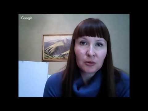 Надежда Русинова-  МК Осень в горах. Пишем маслом - YouTube