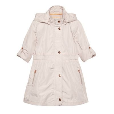 Baker by Ted Baker Girl's natural lightweight belted mac coat- at ...
