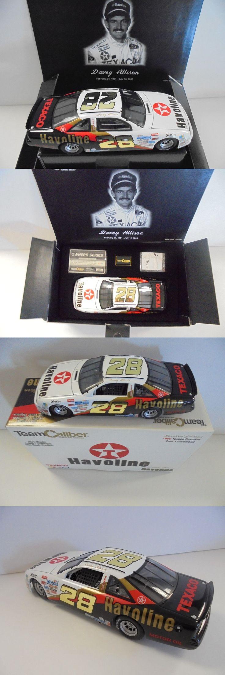 Other Diecast Racing Cars 45354: Davey Allison #28 Texaco Havoline 1989 Ford Thunderbird 1 24Th Nascar Diecast Mm -> BUY IT NOW ONLY: $259.97 on eBay!