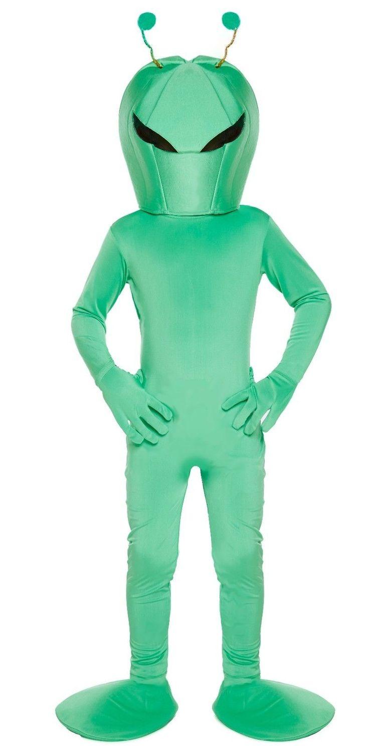 New children boys girls #sci-fi martian green alien #fancy dress halloween #costu,  View more on the LINK: http://www.zeppy.io/product/gb/2/182210914649/