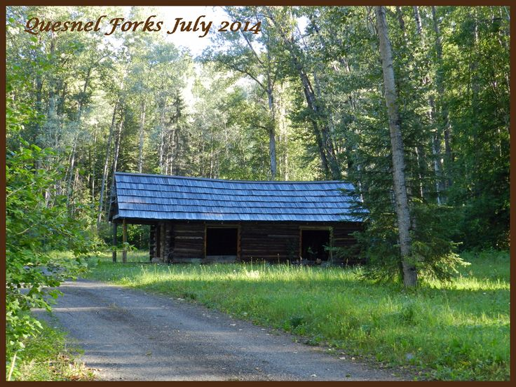 My first pic I took at Quesnel Forks..