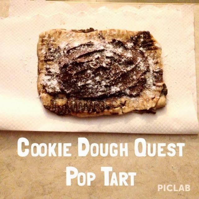 Cookie Dough Quest Pop Tart. So good!! @Quest Nutrition #quest #questbar