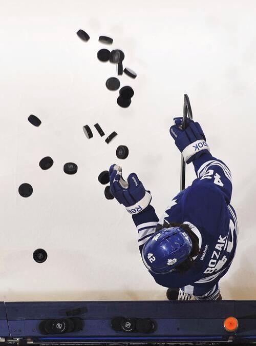 Tyler Bozak Toronto Maple Leafs #42